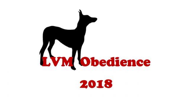 aktualisierte Meldeliste LVM Obedience